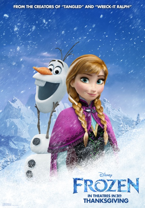 Frosty New Character Posters For Frozen Rotoscopers