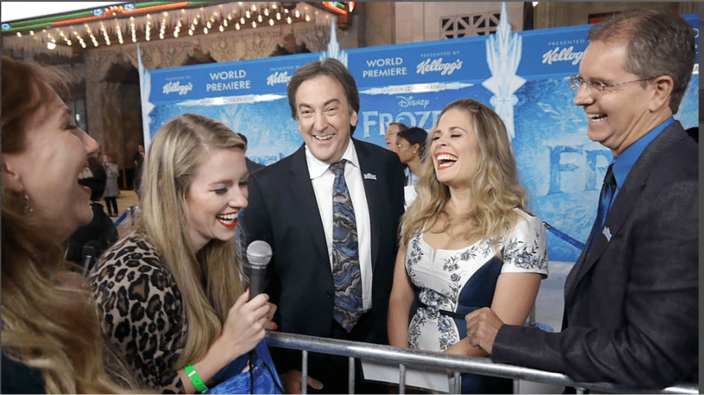 frozen world premiere rotoscopers filmmakers producer director interview