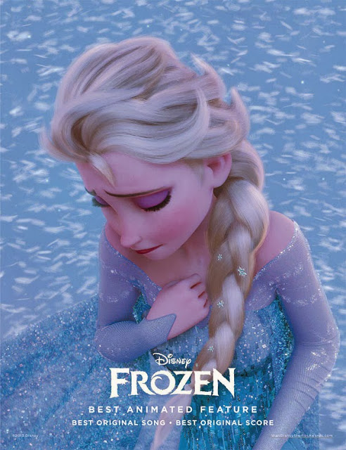 Frozen for your consideration poster