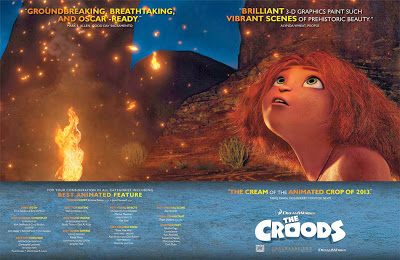 The Croods for your consideration poster