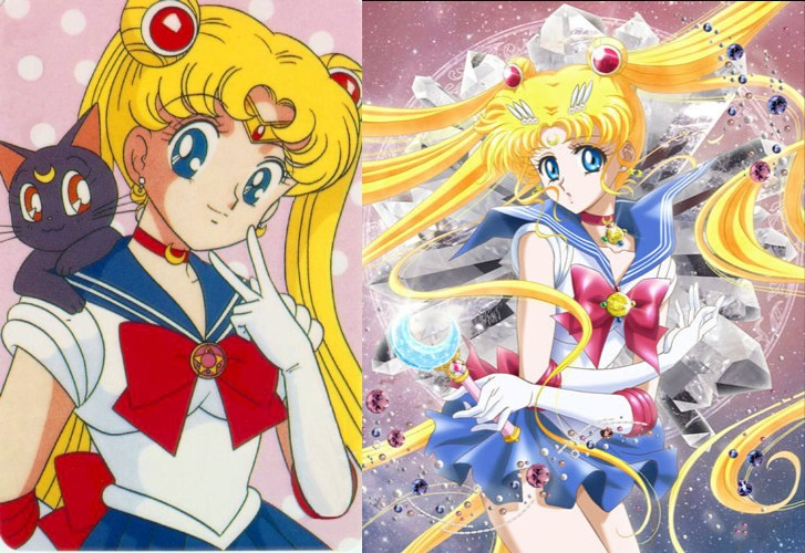 Image result for sailor moon crystal rotoscope