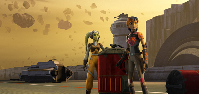 """Star Wars Rebels Recap S1E6: """"Out of Darkness"""" 