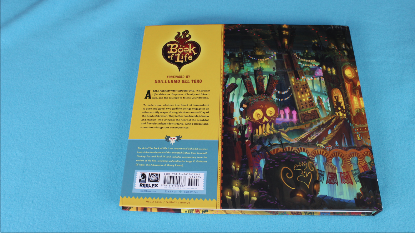 ART OF THE BOOK OF LIFE BACK COVER