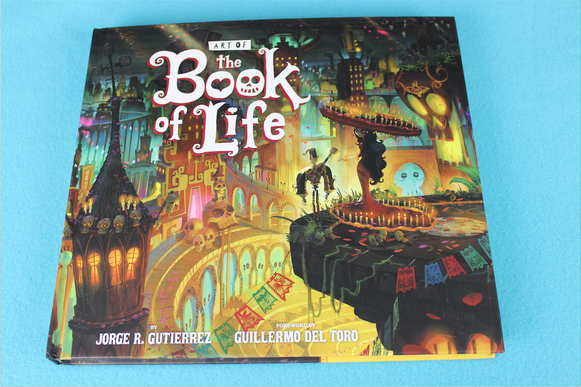 ART OF THE BOOK OF LIFE COVER