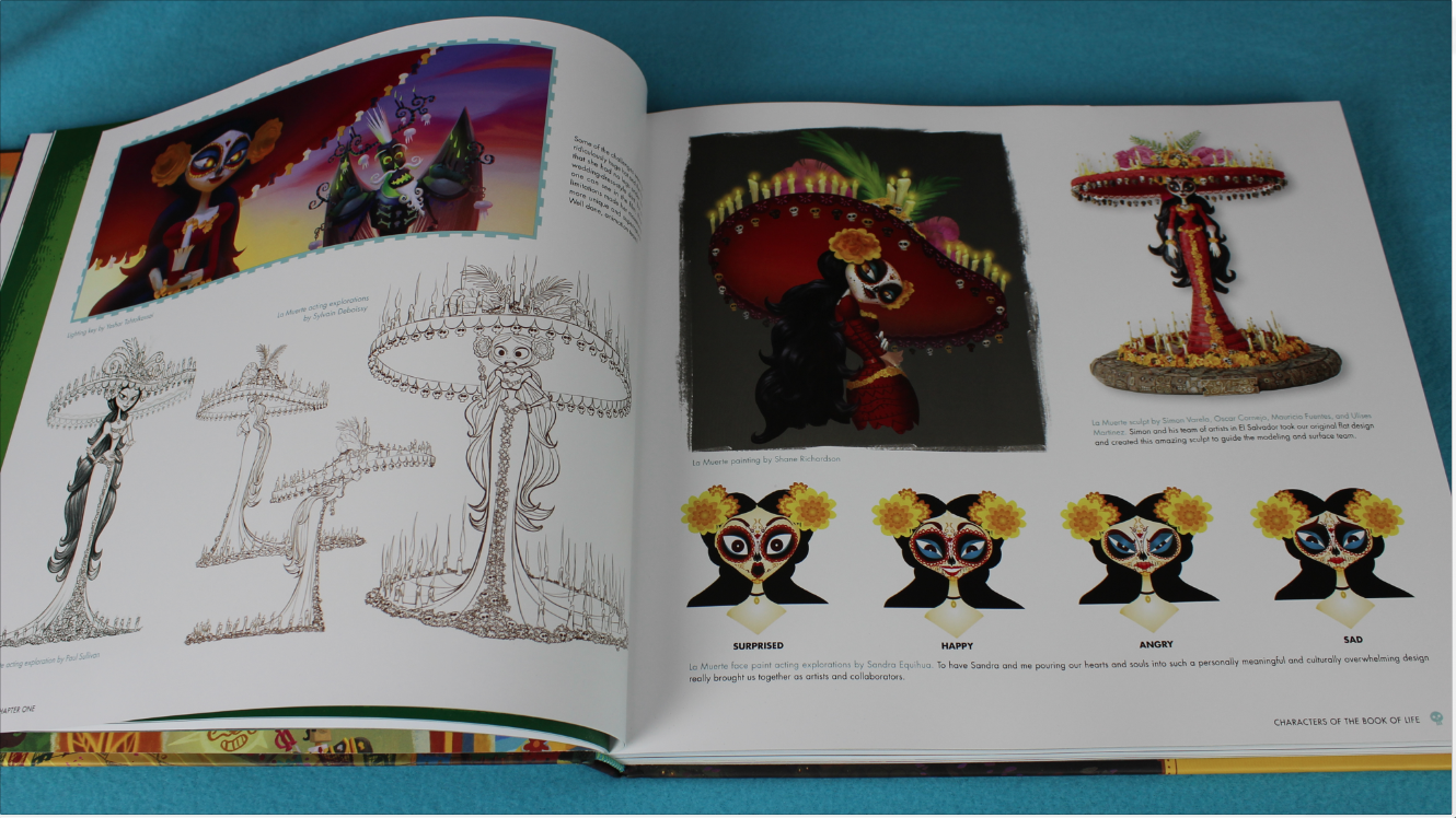 ART OF THE BOOK OF LIFE LA MUERTA