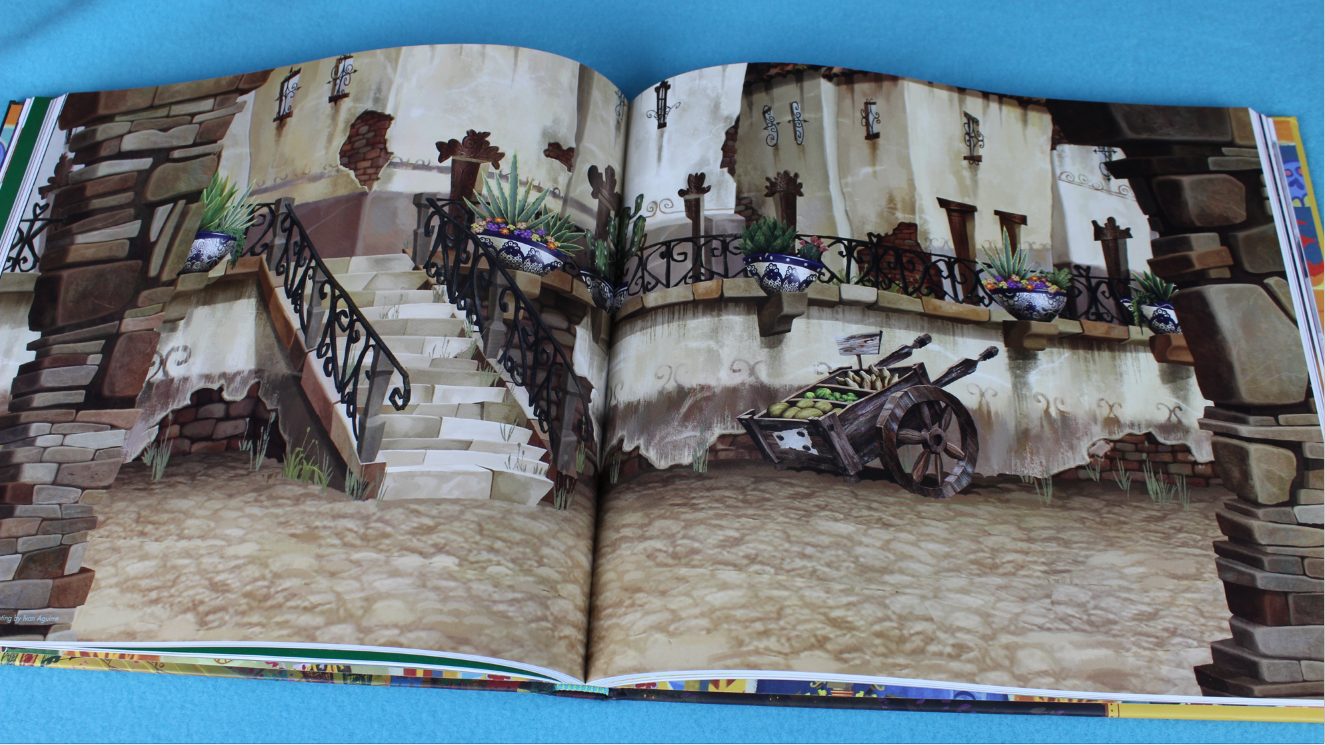 Book of life art book locations