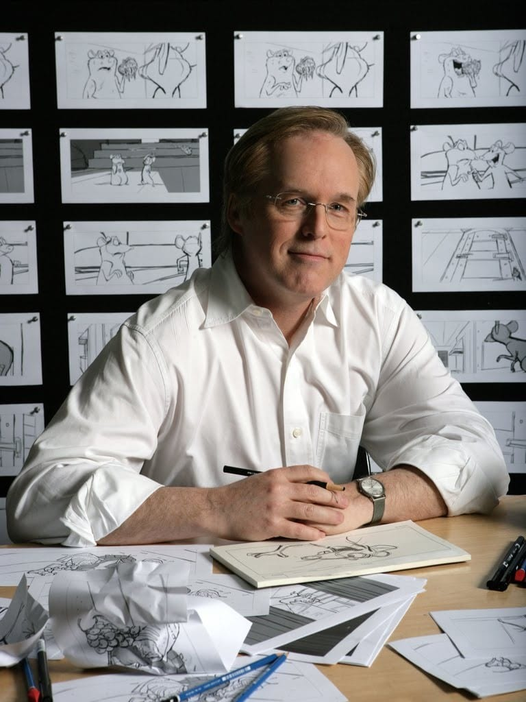 Like Brad Bird. I want a toy Brad Bird to be the lead of Toy Story 4.