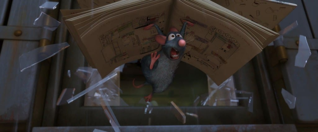 Much like Ratatouille does in his movie