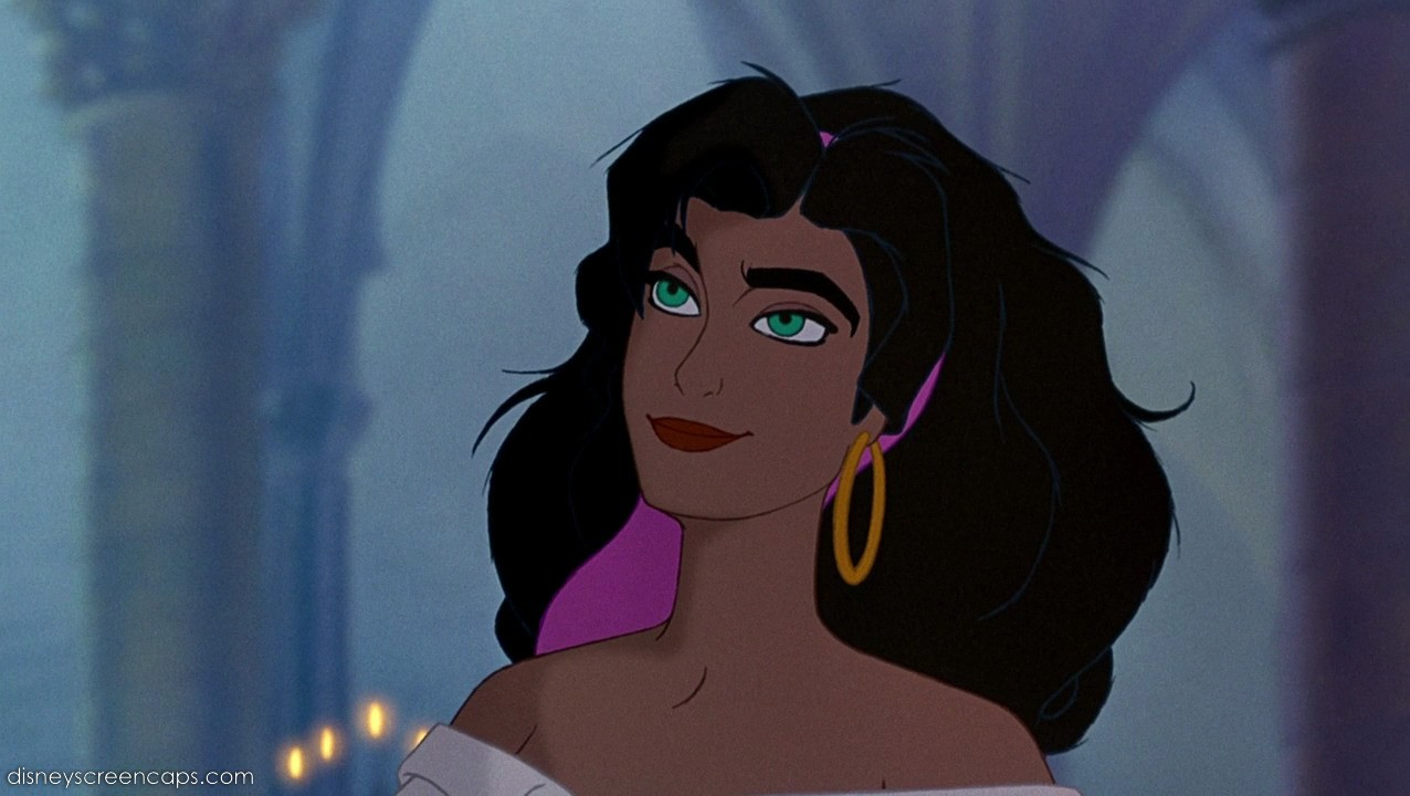 Although that's a common enough mistake, like thinking Esmeralda is a Disney Princess like Ariel or Anastasia.