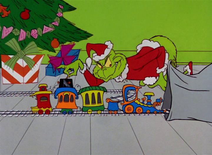 Dr Seuss' 'How the Grinch Stole
