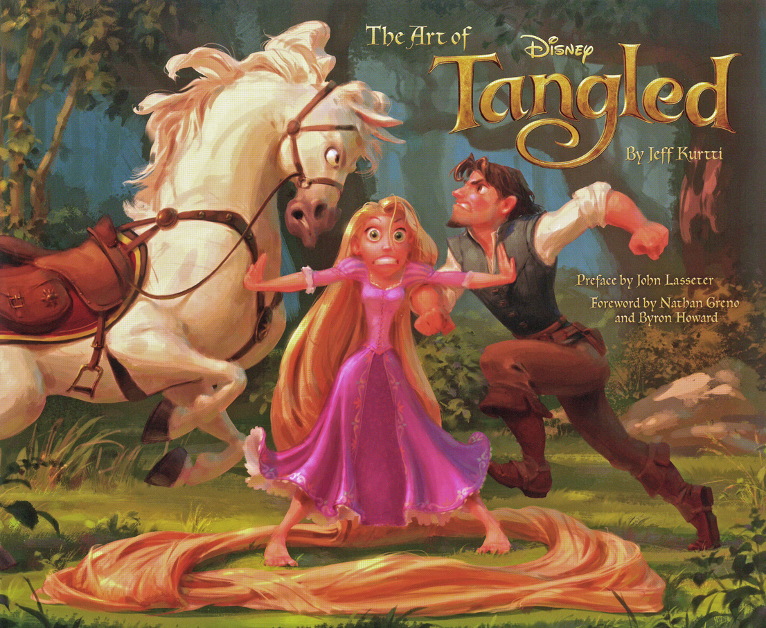 The_Art_of_Tangled_cover