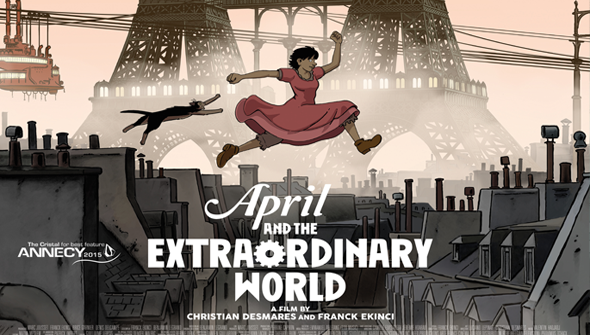 Review April And The Extraordinary World Rotoscopers