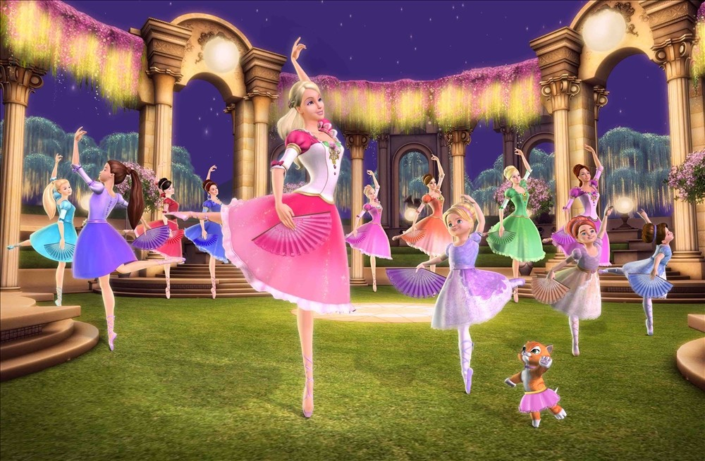 Movies like the Barbie films are made direct to DVD for young girls