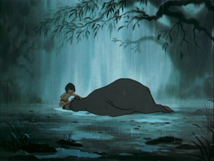 jungle book baloo dying