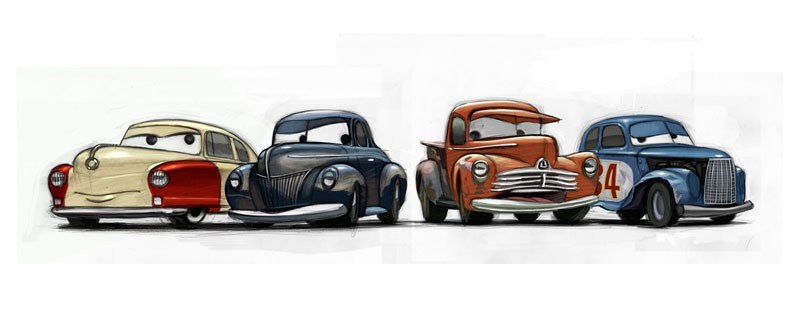 [ART BOOK REVIEW] 'The Art of Cars 3'