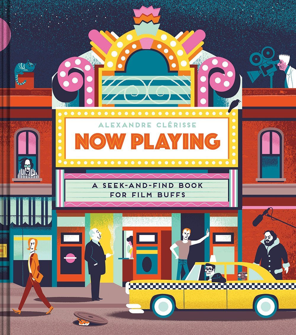 [BOOK REVIEW] 'Now Playing: A Seek-and-Find Book for Film Buffs'