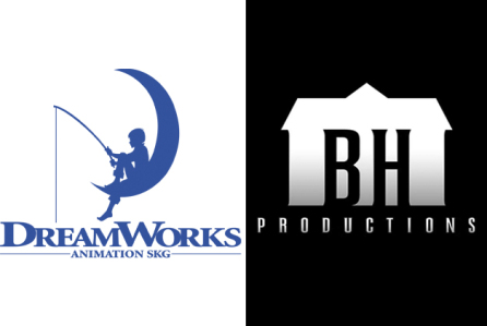 Dreamworks Animation and Blumhouse Productions logos