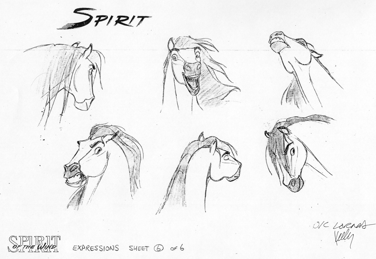 Dreamworks Animation Countdown 6 Spirit Stallion Of The Cimarron Rotoscopers