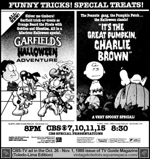 Halloween Countdown Garfield S Halloween Adventure Rotoscopers