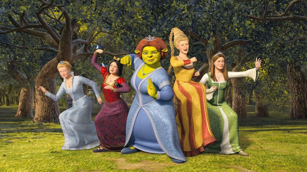Fiona and the Princesses - Shrek the Third