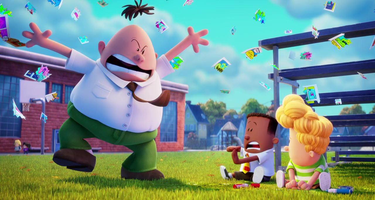 Dreamworks Countdown 35 Captain Underpants The First Epic Movie Rotoscopers