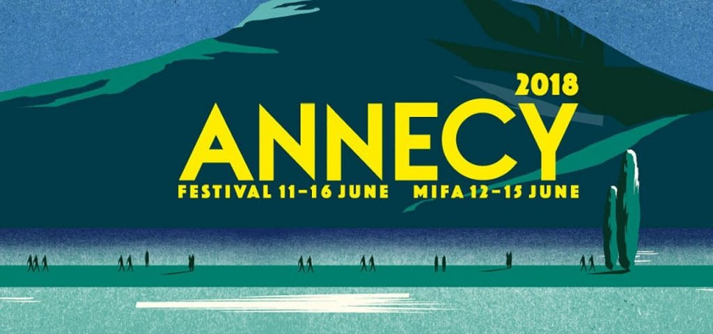 Logo For Annecy Animation Film Festival 2018