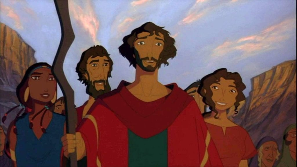 DreamWorks' The Prince of Egypt