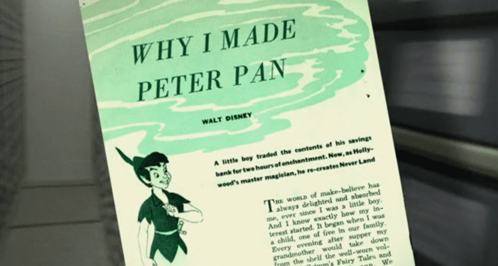 Walt-Disney-Why-I-Made-Peter-Pan