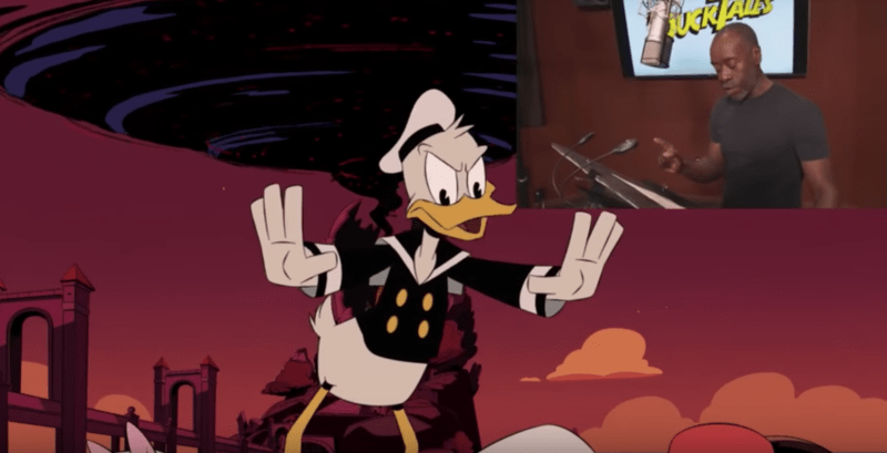 Don Cheadle voices Donald Duck in DuckTales season finale