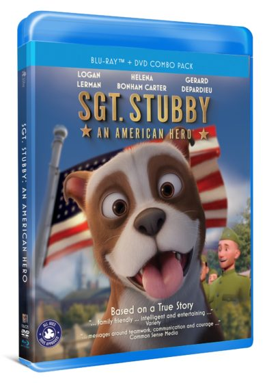 [BLU-RAY REVIEW] 'Sgt Stubby: An American Hero'