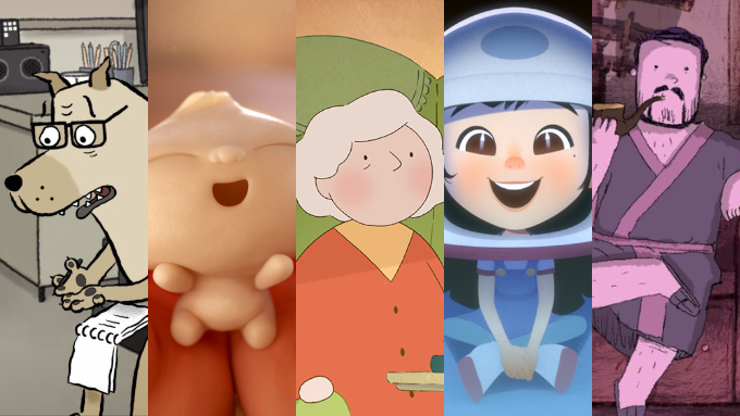 The Best Animated Short Film nominations at the 91st Academy Awards: 'Animal Behaviour', 'Bao', 'Late Afternoon', 'One Small Step', 'Weekends'