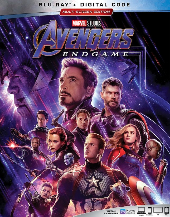 'Avengers: Endgame' Coming to Blu-ray and DVD in August