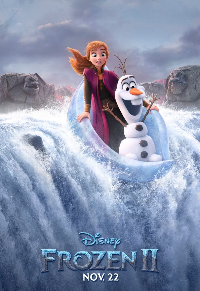 'Frozen 2' Character Posters Foreshadow Epic Scale