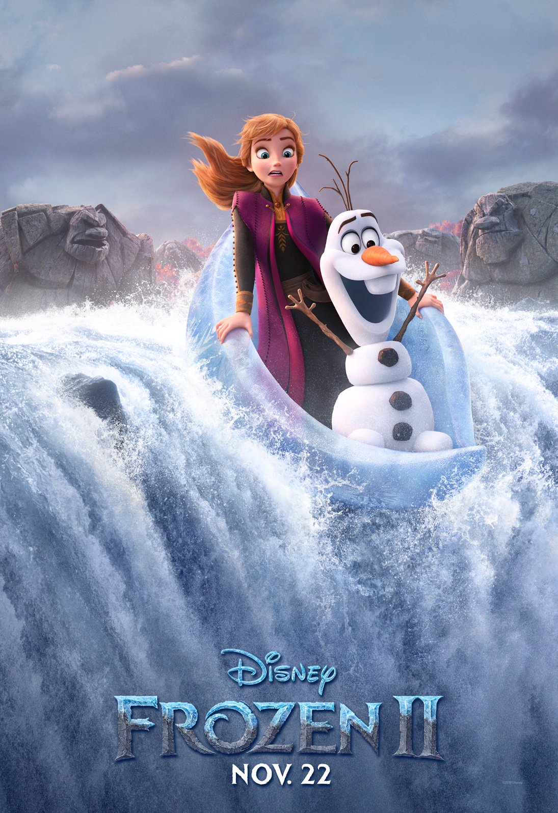 Frozen 2 Character Posters Foreshadow Epic Scale Rotoscopers